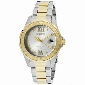 INVICTA Pro Diver 12852 Lady 38mm Stainless Steel Gold